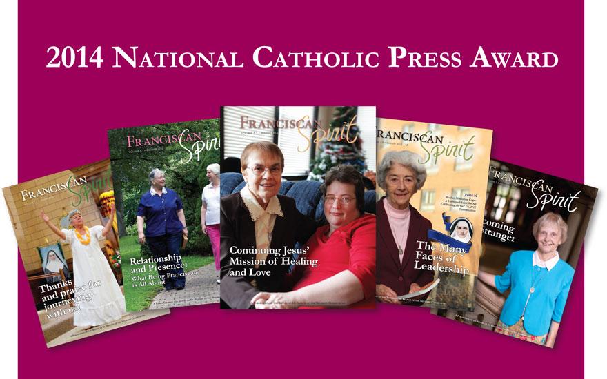 Franciscan Spirit wins award