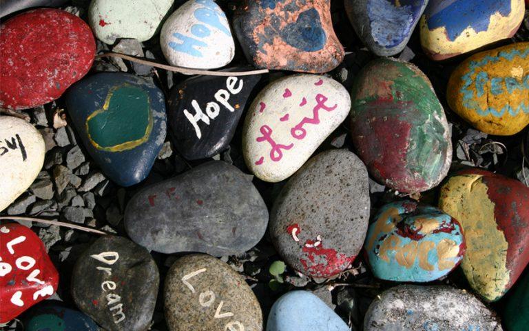 Hope Love Rocks